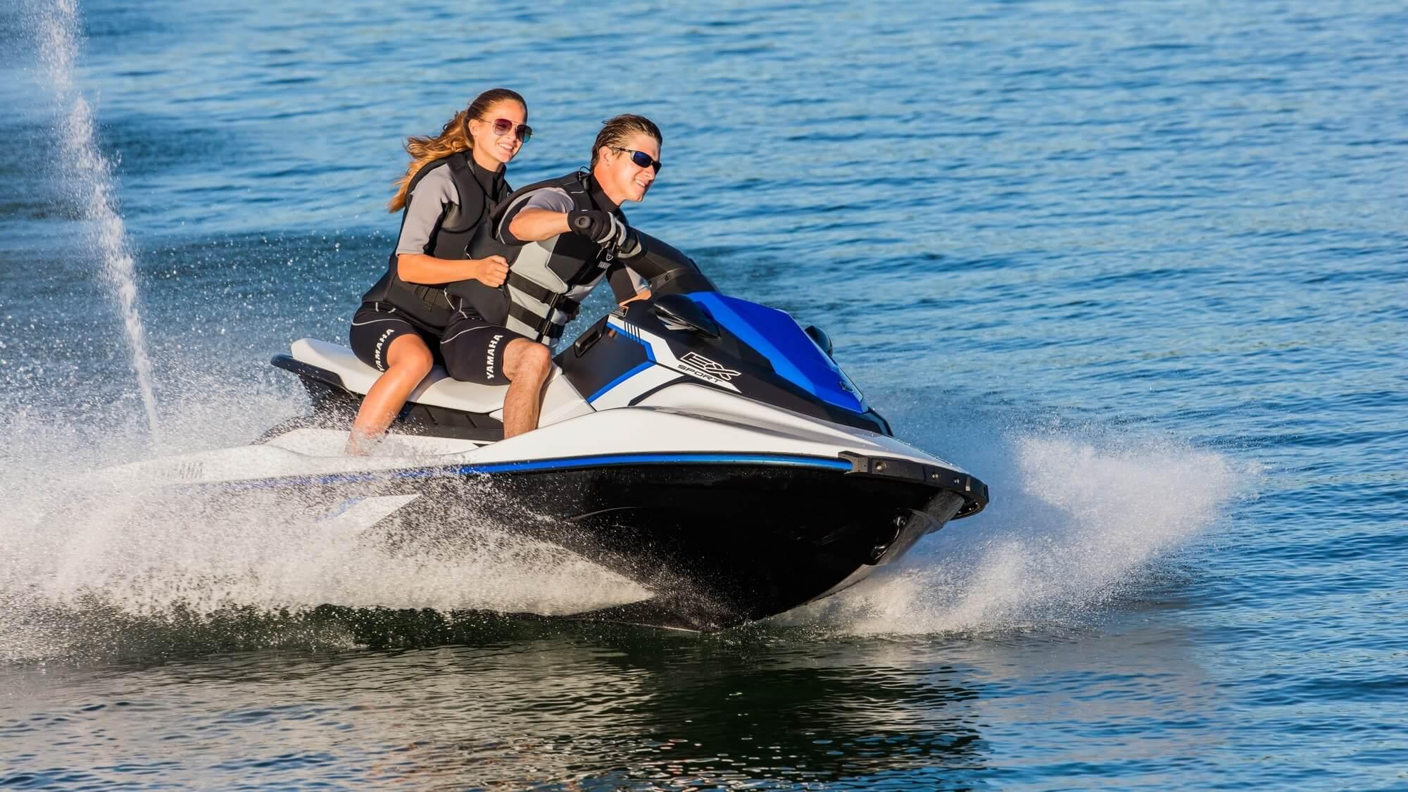 De EX Sport & de VX Cruiser HO!