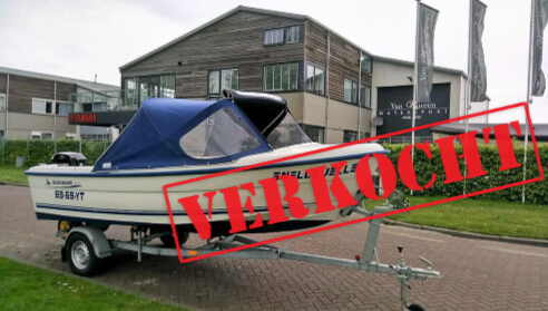 Quicksilver 500 Fish combinatie Mercury 40 PK | VERKOCHT