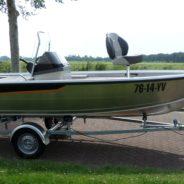 Buster S1, met een visupgrade pakket; de visboot!
