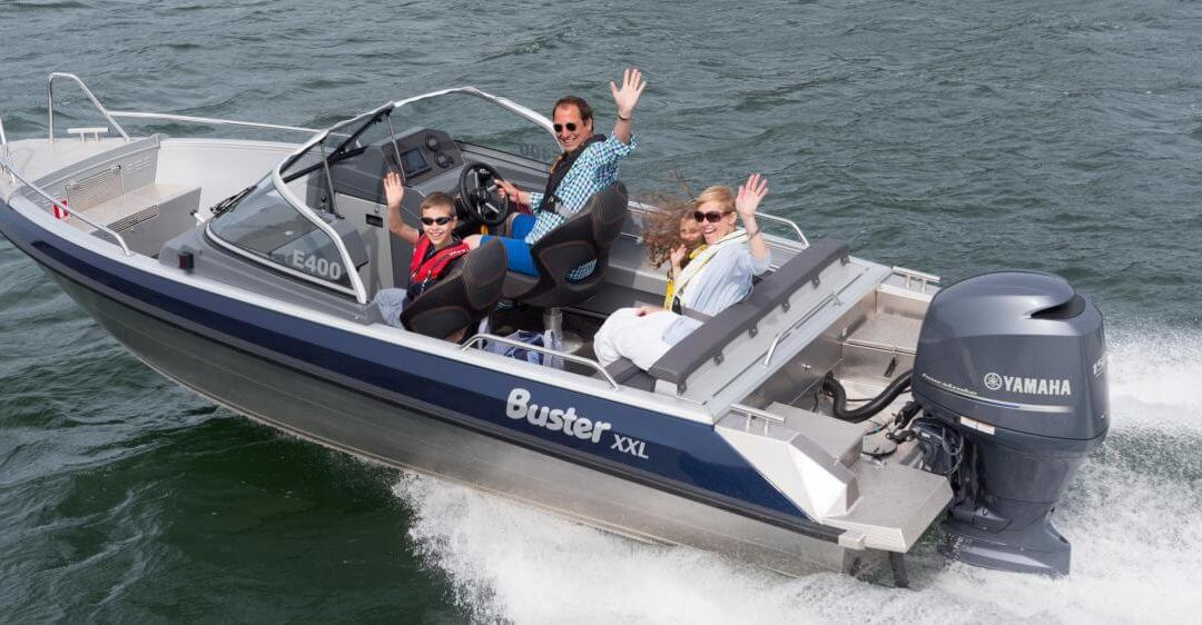 Buster XXL combinatie Yamaha F150 DEMO-model | € 43.500
