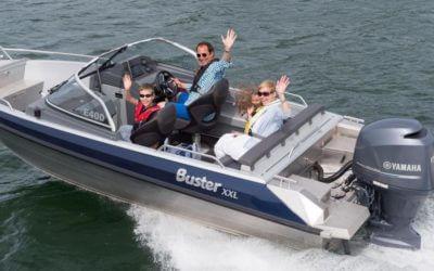 Buster XXL combinatie Yamaha F150 DEMO-model | € 43.500