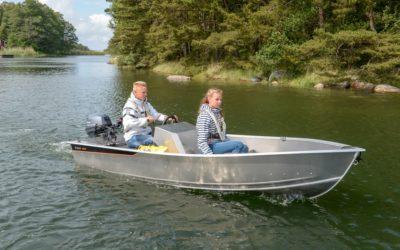 De nieuwe Buster mini Sport, de kleine aluminium consoleboot!