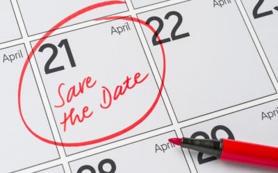 21 april, save the date