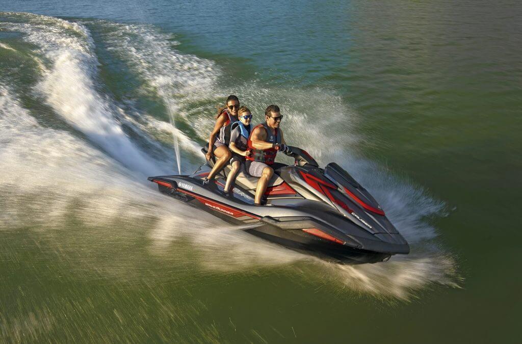 De nieuwste Yamaha WaveRunner, de FX Cruiser SVHO!