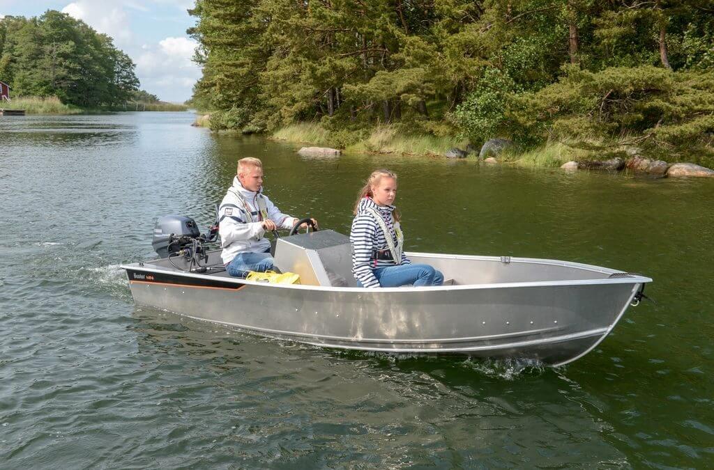 Wonderlijk Buster Mini Sport, aluminium consoleboot   Van Wieren Watersport DA-35